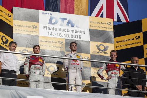 Motorsports: DTM race Hockenheim