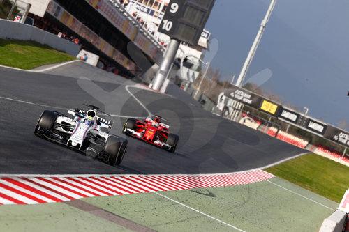 FIA F1 World Championship 2017, Test in Barcelona