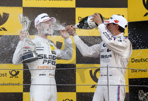 Motorsports: DTM race in Moscow