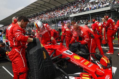 Motorsports: FIA Formula One World Championship 2017, Grand Prix of Mexico
