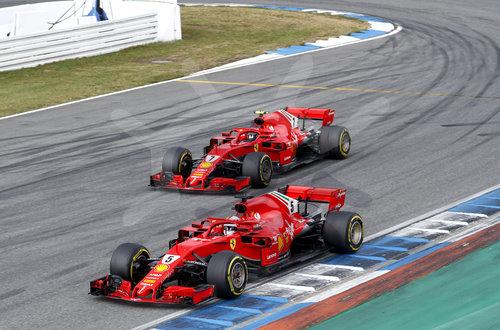 Motorsports: FIA Formula One World Championship 2018, Grand Prix of Germany