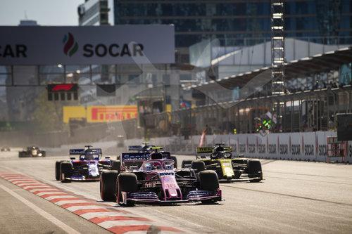 Motorsports: FIA Formula One World Championship 2019, Grand Prix of Azerbaijan